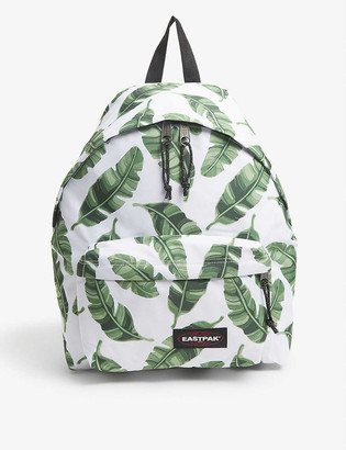 Eastpak Padded Park'r leaf-print nylon backpack