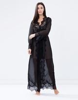 Elizabeth Long Lace Robe