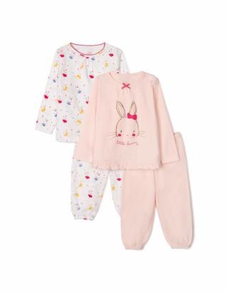 ZIPPY Baby Girls' ZBGP03_470_1 Pajama Set