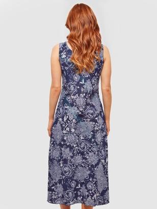 Joe Browns Reversible Mid Length Dress - Multi