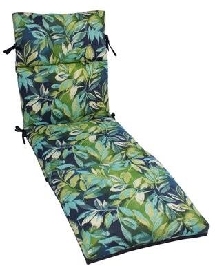 Bay Isle Home Zygi Indoor/Outdoor Chaise Lounge Cushion