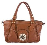 Etro Grained Leather Satchel