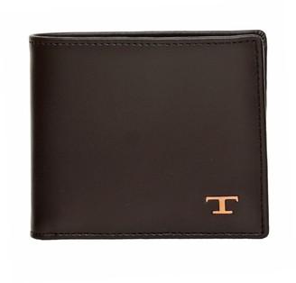 Tod's Tods Tods Dark Brown Wallet