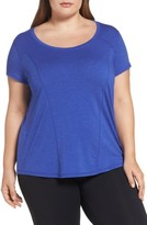 Zella Plus Size Women's 'Siesta' Short Sleeve Tee