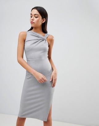 ASOS DESIGN Twist Detail Pencil Dress