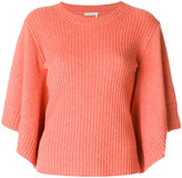 Chloé ribbed cape sleeves sweater