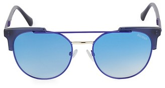 Balmain 53MM Rounded Square Sunglasses