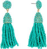 BaubleBar 30244 Mini Pinata Tassel Earrings Sea Green