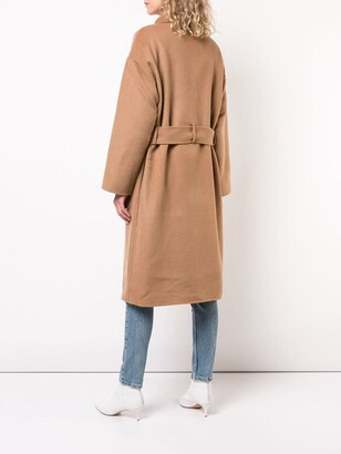 Anine Bing Dylan belted double-breasted coat