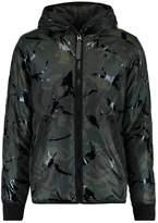 Gstar Strett Padded Hdd Overshirt L/s Light Jacket Asfalt/black