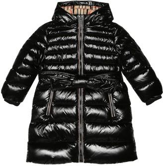 BURBERRY KIDS Down puffer coat