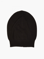 Rick Owens Black Knitted Hat