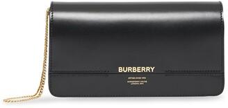 Burberry Grace Horseferry print clutch