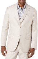 Perry Ellis Big & Tall Linen Herringbone Blazer