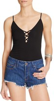 Free People Crisscross Camisole Top
