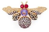 Nadri Purple Bee Pin