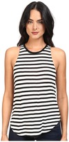 Splendid Stripe Tees Sleeveless Top