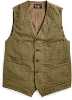 Ralph Lauren Cotton Blend–twill Vest