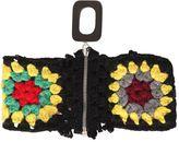 J.W.Anderson Zip-Up Merino Wool Crochet Knit Collar