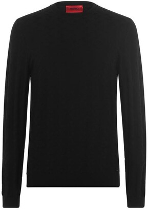 HUGO BOSS Satu Jacquard Knit Jumper