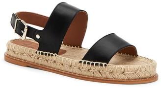 Aquatalia Kira Quarter Strap Weatherproof Espadrille Sandal
