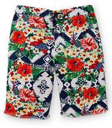 Ralph Lauren Patterned Cotton Twill Short
