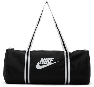 Nike Black Heritage Duffle Bag