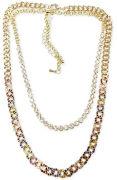 Steve Madden Gold-Tone 2-Pc. Set Chain Link Necklaces