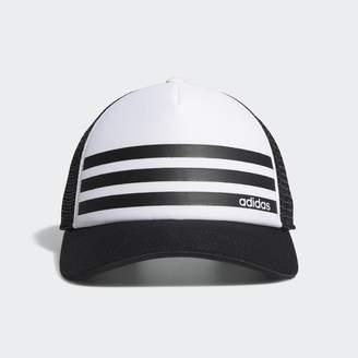 adidas Linear 3-Stripes Trucker Hat