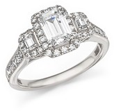 Bloomingdale's Diamond Three-Stone Ring in 14K White Gold, 1.75 ct. t.w.