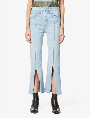 Rag & Bone X Bonum Japan Maya straight-leg high-rise jeans