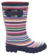 Joules Girl's Rain Boot - Multistripe