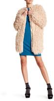 Love Moschino Faux Fur Coat
