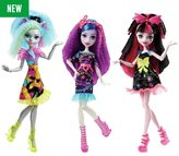 Monster High Electrified Hair-Raising Ghouls Doll Assortment