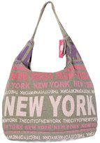 Robin Ruth New York City Cotton Fabric Hobo Shoulder Bag