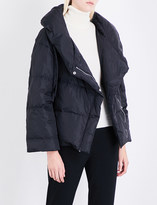 Theory Quilted shell down puffer jacket