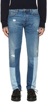 Valentino Blue Patchwork 003 Jeans