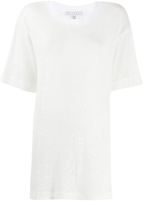 In The Mood For Love Cruz sequin embroidered blouse