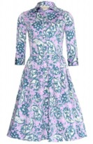 Samantha Sung Audrey Paisley Dress