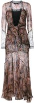 Etro paisley print evening dress - women - Silk/Cotton/Nylon/Viscose - 46