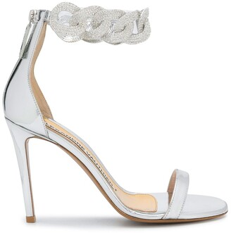 Alexandre Vauthier Elsa embellished-strap sandals