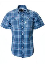 G Star Men's Landoh Short Sleeve Button-Up Shirt