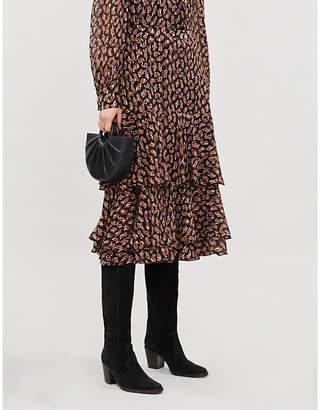 Diane von Furstenberg Meg paisley-pattern silk-blend midi skirt