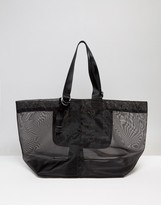 Warehouse Mesh D Ring Tote Bag