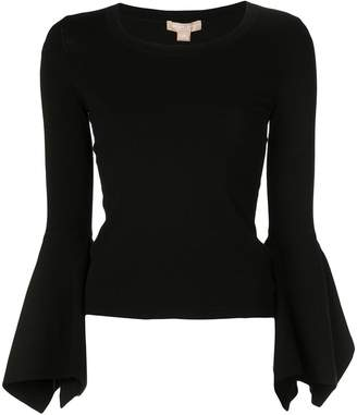 Michael Kors flared sleeve top
