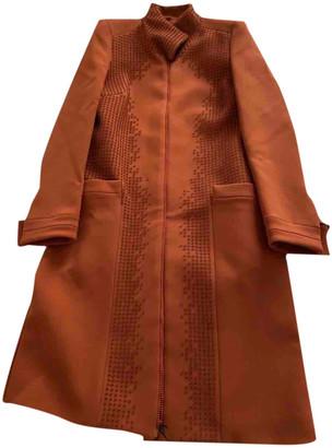 Bottega Veneta Orange Synthetic Coats