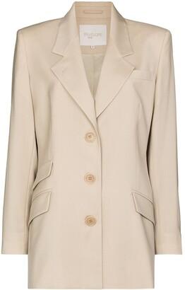 ENVELOPE1976 Single-Breasted Wool Blazer