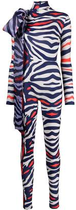 Couture Atu Body zebra print jumpsuit