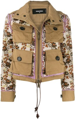 DSQUARED2 Buttoned Front Pocket Jacket