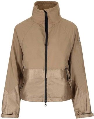 Moncler Logo Windbreaker Jacket